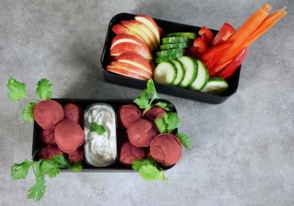 Rote Beete Falafel