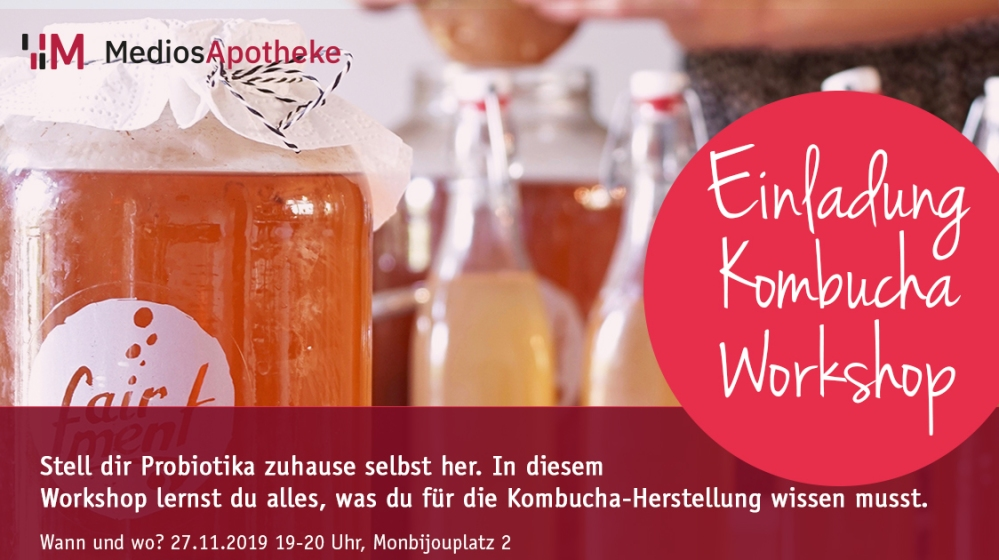 Kombucha Workshop Facebook